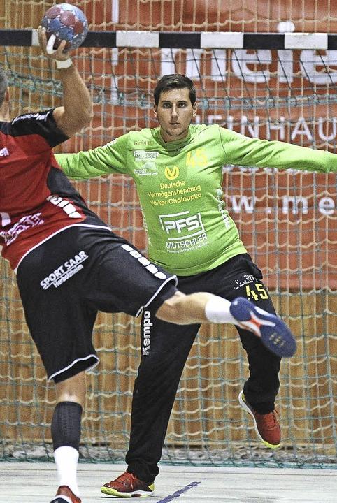 <BZ-FotoAnlauf>Landesliga:</BZ-FotoAnl...niel Walter blickt aufs Spitzenspiel.   | Foto: Keller