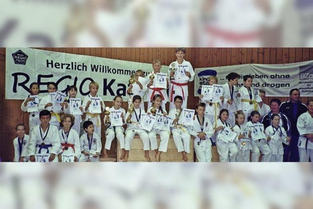 24 Medaillen für Laufenburg