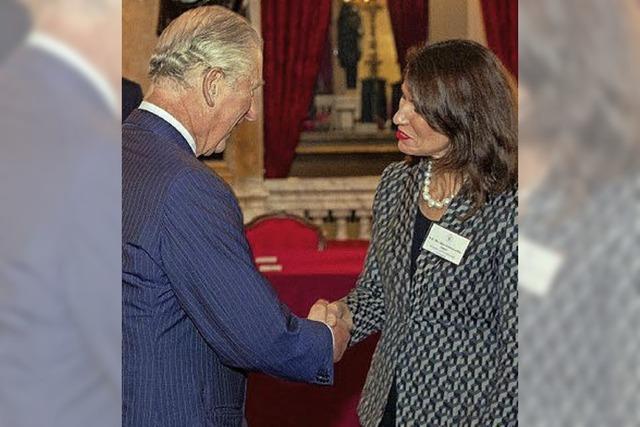 Schwarzelühr-Sutter trifft Prinz Charles