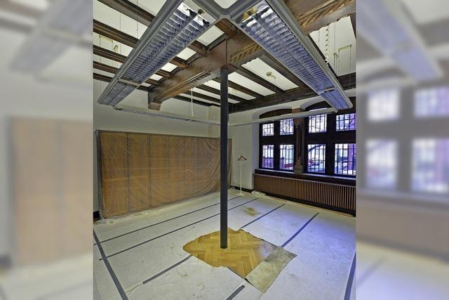 Instabile Decke im Zimmer der Unionsfraktion im Rathaus