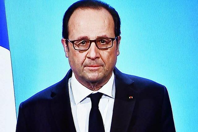 Staatschef Hollande tritt nicht für zweite Amtszeit an