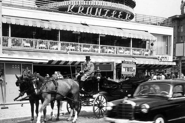 Das legendäre Café Kranzler wird wiedereröffnet