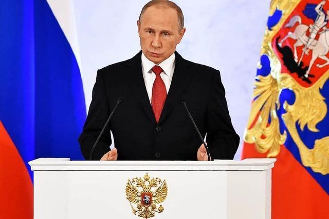 Putin setzt auf Normalisierung der Beziehungen zu USA