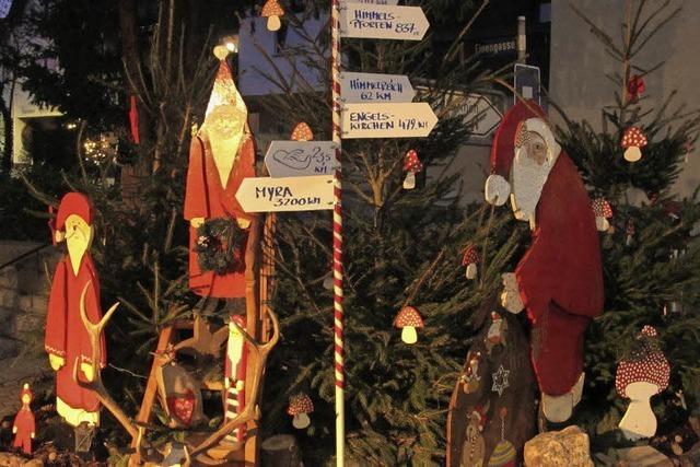 Weihnachtlicher Wegweiser