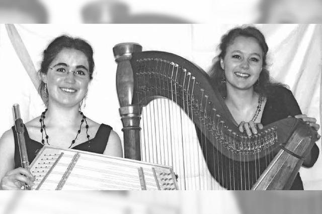 Stefanie Kirner und Bianca Barth in St. Blasien