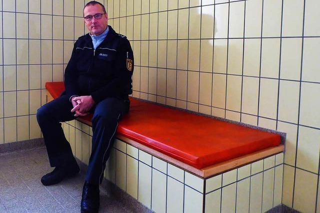 Zu Besuch in der Gewahrsamszelle des Polizeireviers