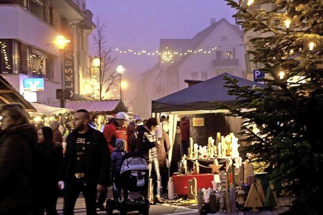 Nikolausmarkt in der Innenstadt
