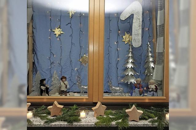 Ein Dorf feiert den Advent gemeinsam