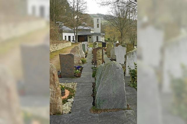 Neue Möglichkeiten für Isteins Friedhof
