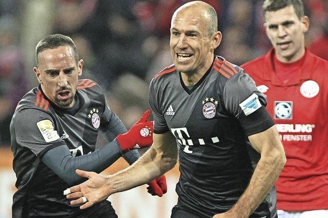 Bayern sind wieder Spitze