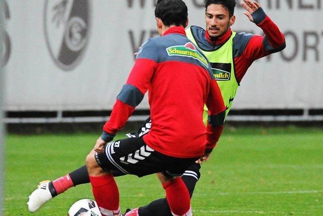 Der SC spielt in Leverkusen