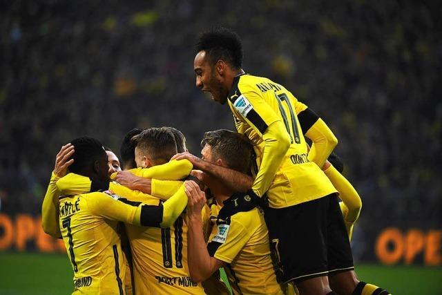 Dortmund überrollt Gladbach mit 4:1