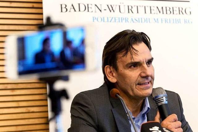 Mord an Maria L.: Bilder von der Pressekonferenz in Freiburg
