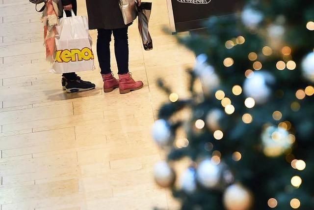 Viele Schweizer kommen zum Shoppen über die Grenze