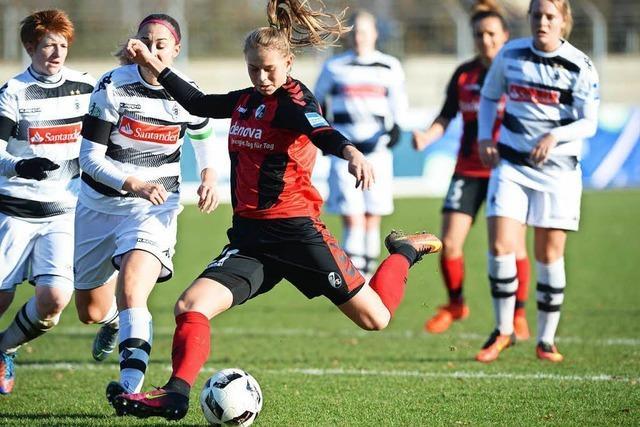 Die Frauen des SC Freiburg erreichen das Viertelfinale