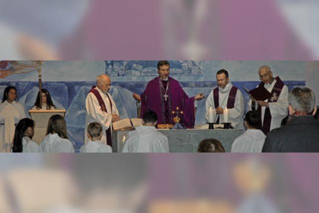 Viel Lob von Weihbischof Gerber