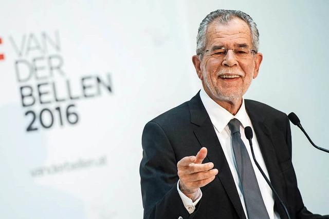 Van der Bellen wird neuer Präsident in Österreich
