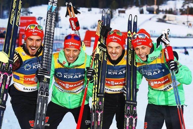 Kombinierer dominieren Weltcup in Lillehammer