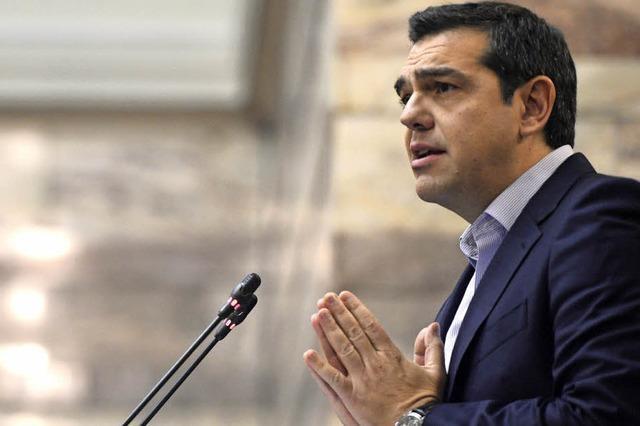 Tsipras wieder unter Druck der Geldgeber