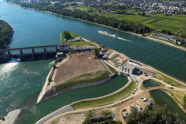 EdF nimmt Wasserkraftwerk bei Märkt in Betrieb