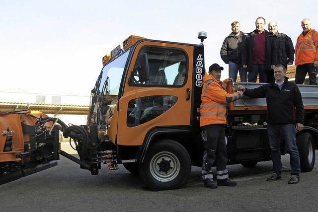 Neues Fahrzeug für den Bauhof