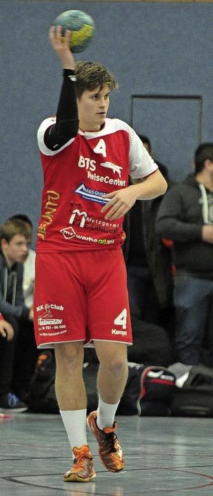 <BZ-FotoAnlauf>Jugend-Bundesliga:</BZ-...25 Sekunden vor Schluss für die SGMN.   | Foto:  pBS