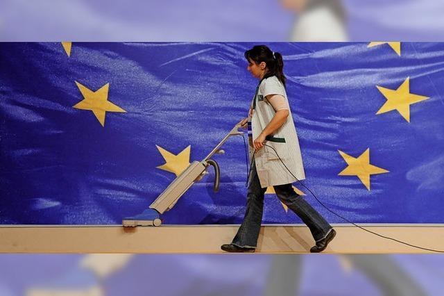 Gewerkschafter für soziales Europa