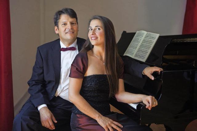 Lieder und Arien mit dem Ehepaar Hormuth in der Pfarrkirche Wittnau