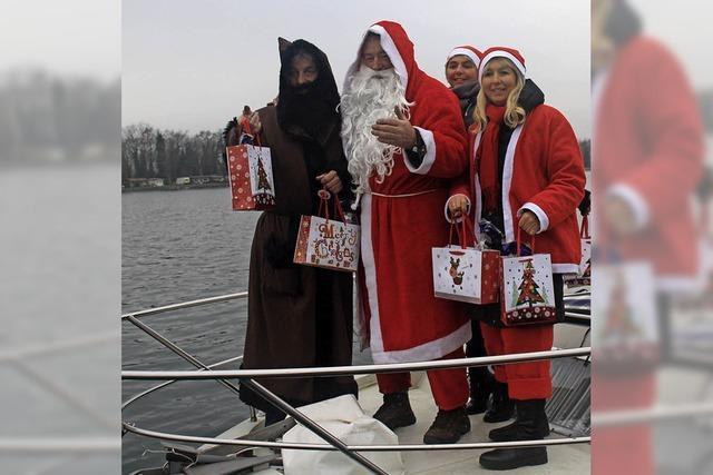 Wenn der Nikolaus längsseits festmacht