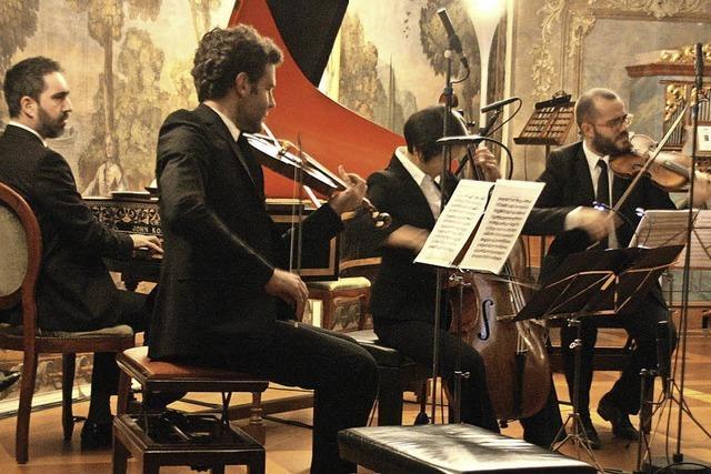 Ensemble aus Paris brilliert beim Schlosskonzert in Bad Krozingen