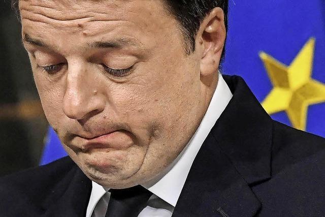 Referendum gescheitert – Renzi bleibt vorerst im Amt
