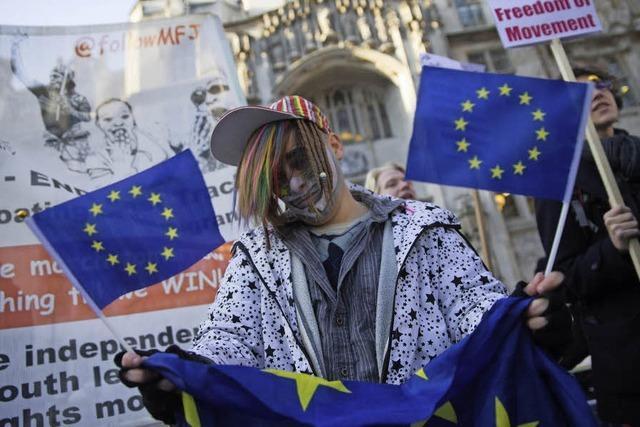 Oberstes Gericht verhandelt über Brexit