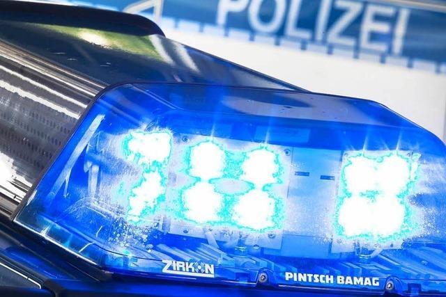Unbekannte wollen Wohnmobil in Bad Säckingen aufbrechen