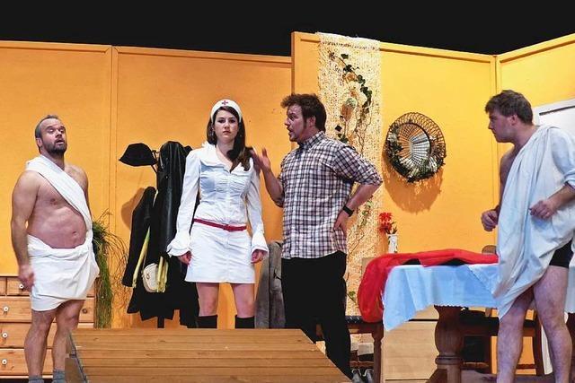 Oberrieder Theatergruppe spielt amouröse Komödie