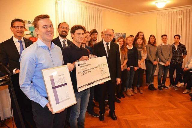 Leinegg-Team der Pfarrei St. Josef erhält den Bürgerpreis