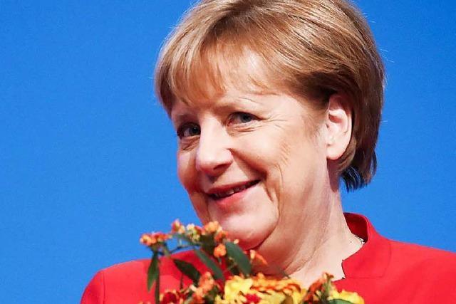 Dämpfer für Merkel von CDU - schlechtestes Ergebnis als Kanzlerin