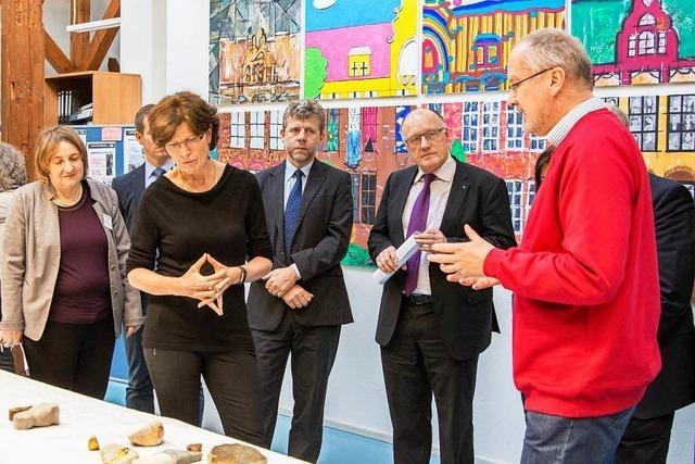 Eine Ausstellung im Integrierten Beruflichen Gymnasium in Lahr