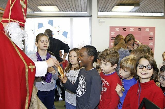 Nikolaus an der Grundschule Schuttern