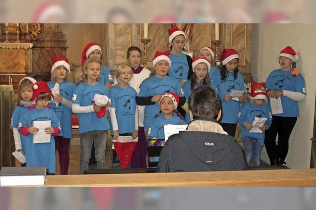Kirchenchor St. Leodegar, Kinderchor, Singgruppe Harmonie in Ühlingen