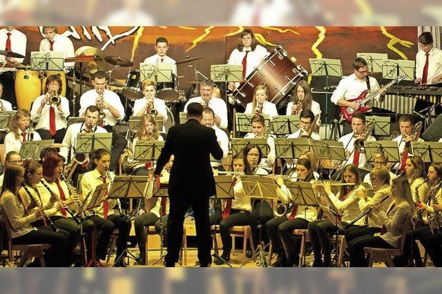 Bläserjugend und Stadtmusik in Lenzkirch