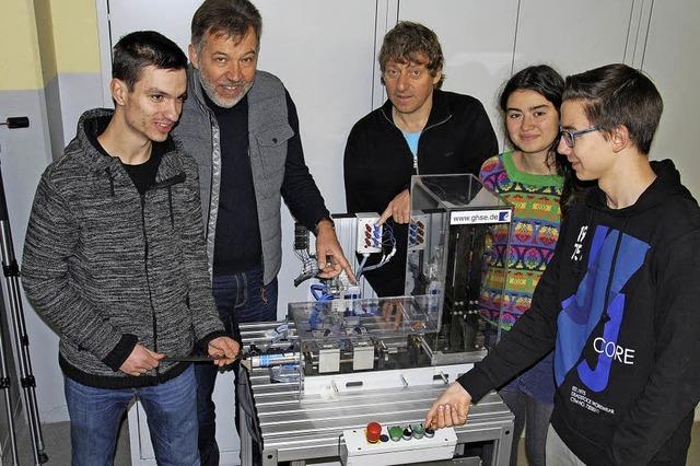 TG präsentiert Mechatronik in Stuttgart