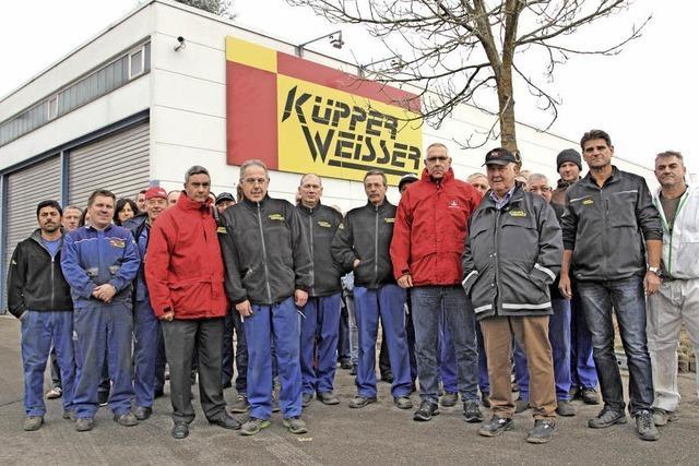 Schlechtes Klima bei Küpper-Weisser