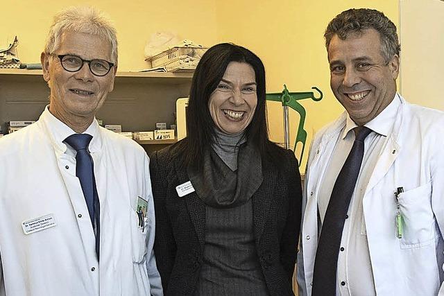 Die Müllheimer Helios Klinik stellt ihren neuen Chirurgie-Chefarzt Matthias Goos vor