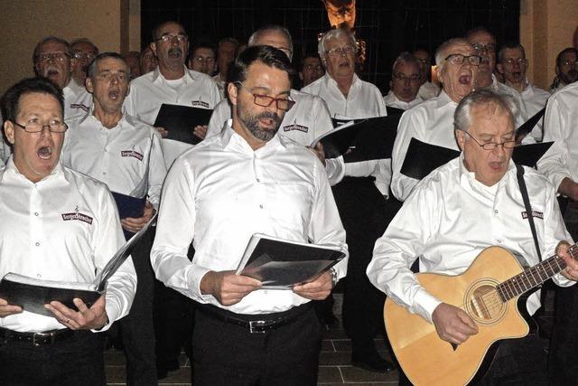 Stattlicher Chor mit Intonationsgeschick