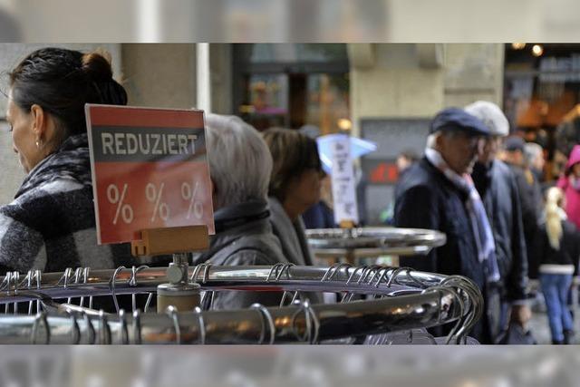 Der Umsatz in Lörrach steigt, aber der Kaufkraftzufluss geht zurück