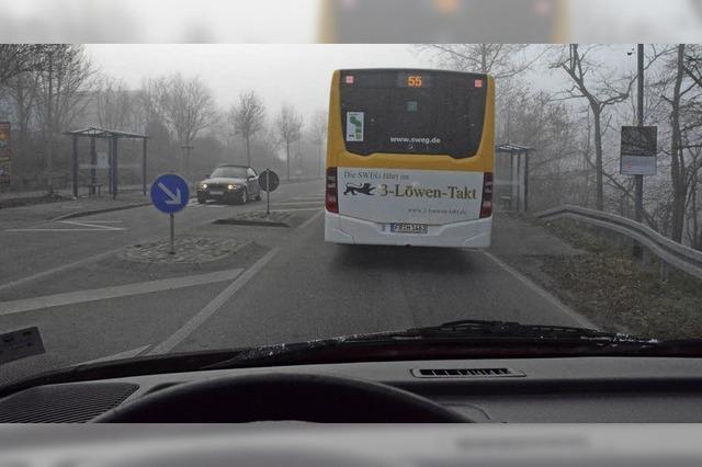 Keine Buchten für den Bus
