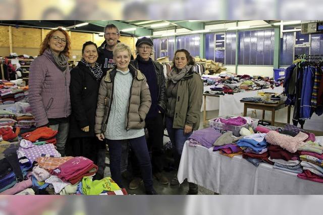 Kleiderkammer erweitert Kundenkreis