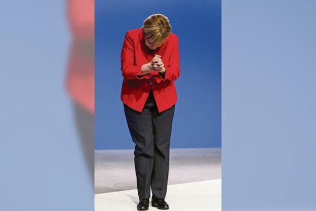 89,5 Prozent stimmen für Merkel