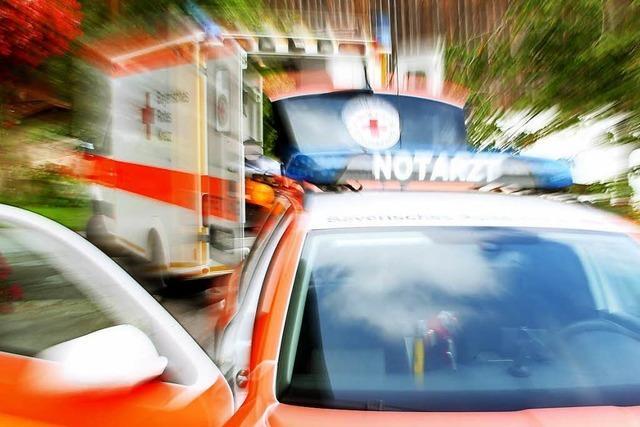 Auto stößt in Lörrach mit Rettungswagen zusammen – ein Verletzter