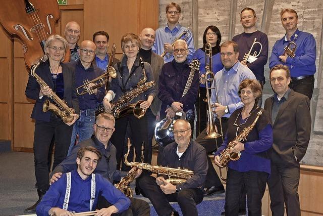 Blue Note Jazz Orchestra in der Lukas-Kirche in Freiburg-St. Georgen